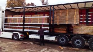 transport drewna jak ładować